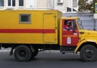 Автомобиль аварийной службы на шасси ЗиЛ-433362. г. Самара, ул. Молодогвардейская
