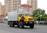 Лаборатория связи 490921 на шасси Урал-43203 #К 911 ЕМ 60. Псков, Юбилейная улица