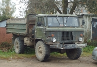Самосвал ГАЗ-САЗ-35-11 на шасси ГАЗ-66-11 #Е 391 ЕН 60. Псков, улица, Плехановский посад
