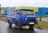 Фургон УАЗ-39099 #Н 528 ЕЕ 60. Псков, улица Труда