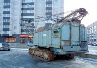 Кран RDK-250. Псков, улица Труда