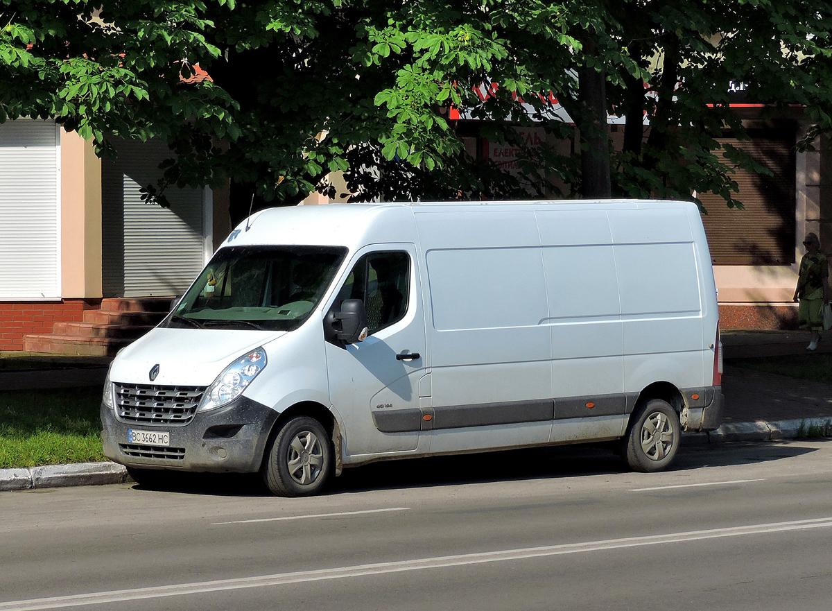 Цельнометаллический фургон на шасси Renault Master #ВС 3662 НС. Львовская область, г. Червоноград, проспект Шевченко
