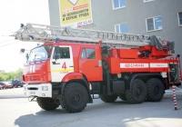 Автоцистерна пожарная с лестницей  АЦЛ 3-40/4-24 (43118) #Х 725 ТУ 163. г. Самара, ул. Мичурина