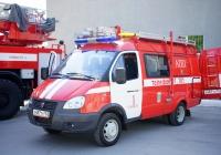 Пожарный автомобиль первой помощи #х 487 ту 163. г. Самара, ул. Мичурина
