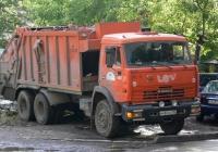 Машина для перевозки твердых бытовых отходов КО-427-03 на шасси КамАЗ-61115 #м 480 кх 163. г. Самара, ул. Ново-Вокзальная