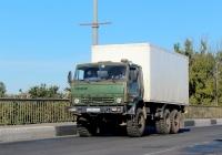 Фургон на шасси КамАЗ-4310 #У 247 КВ 60. Псков, Крестовское шоссе