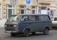 микроавтобус Volkswagen Caravelle T3 #а 752 не 134. г. Самара, ул. Мичурина