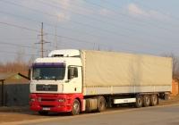 Седельный тягач MAN TGA 18.400 #BJN 691 с полуприцепом Krone. Псков, Инженерная улица