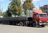 Седельный тягач КамАЗ-5410 #Х 008 ВЕ 60. Псков, улица Труда