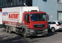 Рефрежираторный фургон на шасси MAN TGS 28.360 #А 533 КТ 37. г. Самара, ул. Чкалова
