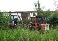 Тракторы Т-25, ЮМЗ-6 и самоходное шасси Т-16*. Алтайский край, Барнаул, Змеиногорский тракт