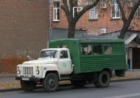вахтовый автобус ТС-3966 на шасси ГАЗ-53-12  #у 754 мс 63. г. Самара, ул. Коммунистическая