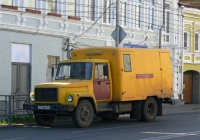 бытовка на шасси ГАЗ-3307 #х 713 ве 163. г. Самара, ул. Льва Толстого
