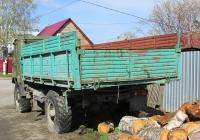 Самосвал на шасси ГАЗ-66-15 #М 763 ЕМ 154. Новосибирская область, Бердск, улица Лермонтова
