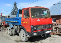Самосвал МАЗ-5551 #С 197 РМ 54. Новосибирская область, Бердск, улица Лермонтова