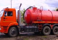 Ассенизационная машина на шасси КамАЗ-53215 №в465хо196. Свердловская область, Асбест