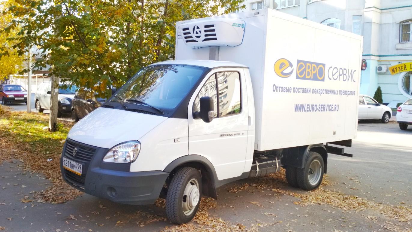 Изотермический фургон на шасси ГАЗ-330200-004 #т 211 во 799. г. Самара, ул. Садовая