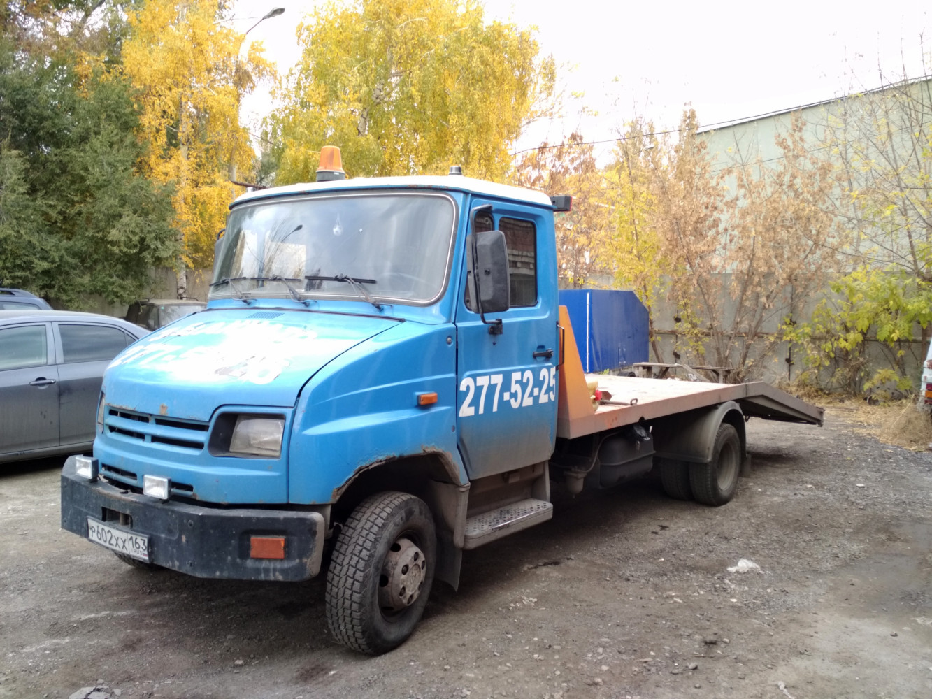 эвакуатор на шасси ЗиЛ-5301* #р 602 хх 163. г. Самара, ул. Красных Коммунаров
