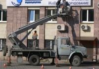 Коленчатый подъемник АПТ-22 на шасси  ЗиЛ-433362. г. Самара, ул. Ново-Садовая