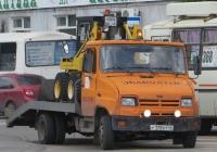 Эвакуатор на шасси ЗиЛ-5301АР #Р 175 КТ 45. Курган, улица Ленина