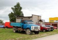Самосвал ГАЗ-САЗ-3507 на шасси ГАЗ-53-19 #Е 200 ЕН 60. Псков, Рижский проспект