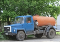 Ассенизационная машина на шасси ГАЗ-3307 #Н 366 МА 45. Курганская область, Шадринск, Пионерская улица