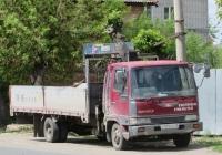 Бортовой грузовик с КМУ на шасси Hino Ranger #Р 070 КР 45. Курганская область, Шадринск, Михайловская улица