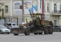 Автогрейдер ДЗ-122. Курган, улица Куйбышева