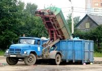 Мультилифт МСК-10-01 на шасси ЗИЛ-431410 #Р 184 ЕО 60. Псков, улица Речная