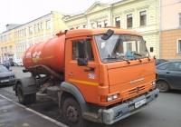 вакуумная машина КО-515А на шасси КамАЗ-4308 (шасси) #н 666 сс 163. г. Самара, ул. Фрунзе