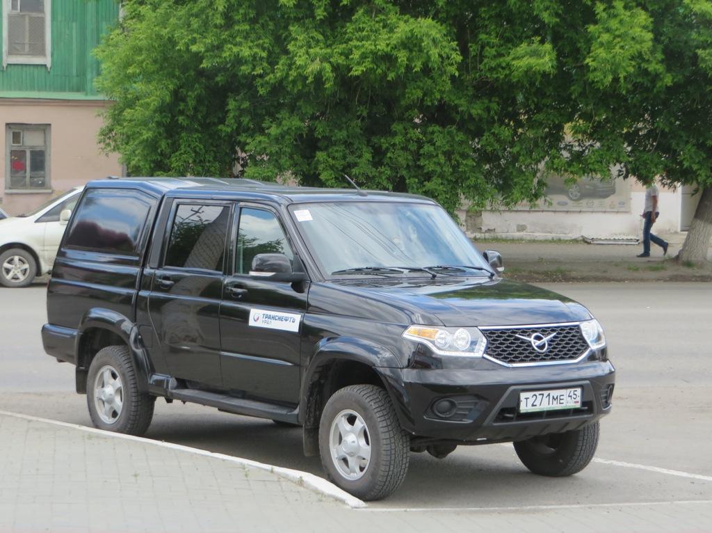 Автомобиль УАЗ-23632 #Т 271 МЕ 45.  Курган, улица Куйбышева