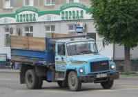Самосвал ГАЗ-САЗ-3507 на шасси ГАЗ-3307 #К 156 ЕК 45.  Курган, улица Куйбышева