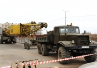 Балластный тягач КрАЗ-255Б #Р 347 АН 60. Псков, Инженерная улица