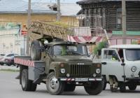 Автовышка АП-17А на шасси ГАЗ-53-14 #О 896 ЕМ 45. Курган, улица Ленина
