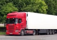 Седельный тягач Scania R 500 #Е 974 МХ 51. Псков, проспект Энтузиастов