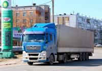Седельный тягач MAN TGX 18.440 #О 999 КР 60. Псков, Индустриальная улица