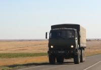 Бортовой грузовик КамАЗ-53501 #6447 АВ 21. Калмыкия