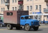 Автомастерская на шасси ГАЗ-53-19 #Р 139 ЕХ 45. Курган, улица Коли Мяготина
