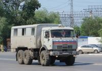 Вахтовый автобус НефАЗ-42111 на шасси КамАЗ-43114 #А 619 ХС 74. Курган, Станционная улица