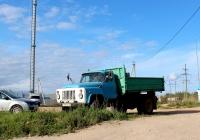 Самосвал ГАЗ-САЗ-3507 на шасси ГАЗ-53-14 #Т 697 ВК 60. Псков, Инженерная улица
