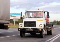 Ассенизационная машина КО-503В-2 на шасси ГАЗ-3309  #0371 ЕК 43. Псков, Северный обход