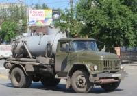 Вакуумная машина КО-510 на шасси ЗиЛ-431412 #Т 803 АС 45. Курган, Пролетарская улица