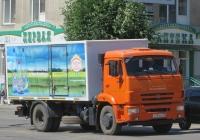 Фургон АФ-47415T на шасси КамАЗ-43253 #Т 134 КХ 45.  Курган, улица Куйбышева