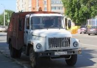Подметально-уборочная машина ПУМ-1 на шасси ГАЗ-3307 #Е 346 ЕВ 45.  Курган, улица Куйбышева