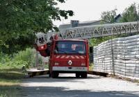 Автолестница на шасси Renault Midliner 250 #АХ 8844 АВ. Харьковская область, г. Харьков, Салтовское шоссе