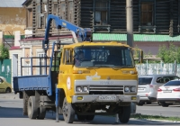 Бортовой грузовик с КМУ на шасси Isuzu SBR #Х 365 МУ 174. Курган, улица Куйбышева