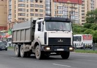 Самосвал МАЗ-5516 #О 321 СО 178. Псков, Юбилейная улица