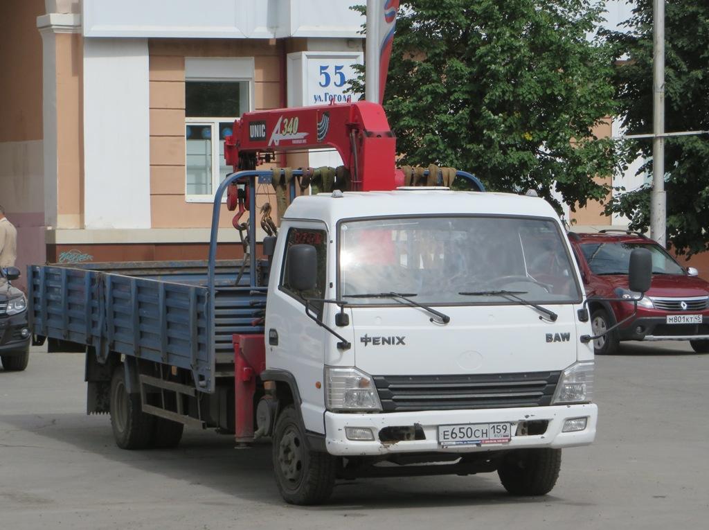 Бортовой грузовик с КМУ BAW 3346-0000010-101 #Е 650 СН 159.  Курган, улица Гоголя