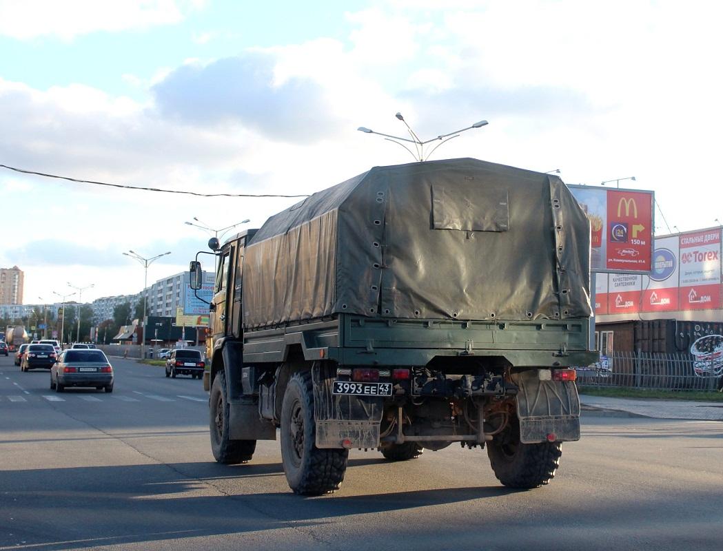 КамАЗ-43501 #3993 ЕЕ 43. Псков, Юбилейная улица
