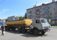 Седельный тягач КамАЗ-54112 #А 584 АС 45. Курган, улица Карла Маркса